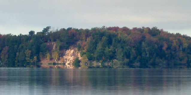 popular sand dune on Brevort Lake