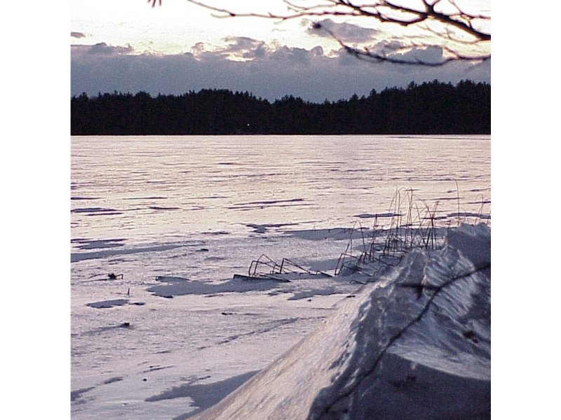 Brevort Lake-winter